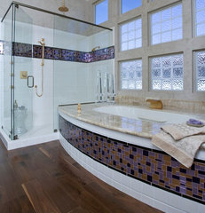 contemporary bathroom by Peg Berens Interior Design LLC
