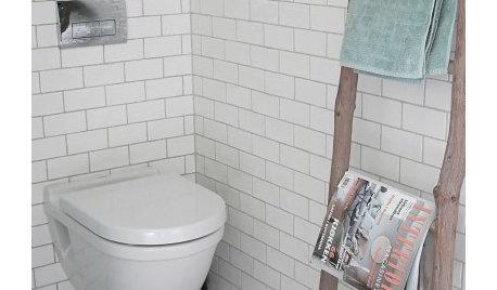 9 Ideen, wie man WC-Lektüre ordentlich verstauen kann