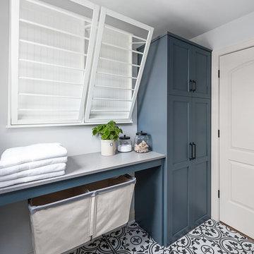 Holmes Ave .Master bath, Laundry and Powder room