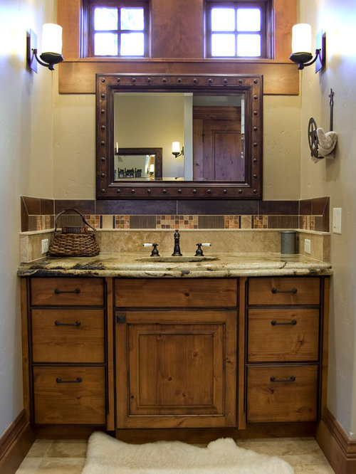 Bathroom counter cabinet
