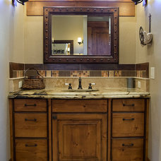 Traditional Bathroom by Pinetop Custom Homes