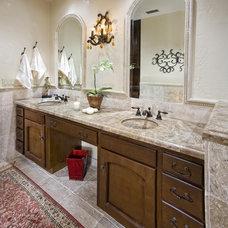 Mediterranean Bathroom by Lori Hollis