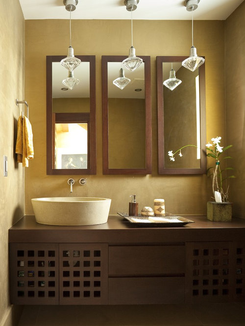 Vanity Lights Off Center : Bathroom Mirror Home Design Ideas, Pictures, Remodel and Decor