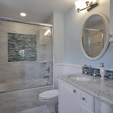 Traditional Bathroom by GreenTex Builders LLC