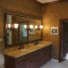 Mediterranean Bathroom by Home Platinum Services LLC