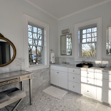 contemporary bathroom by Anthony James Construction