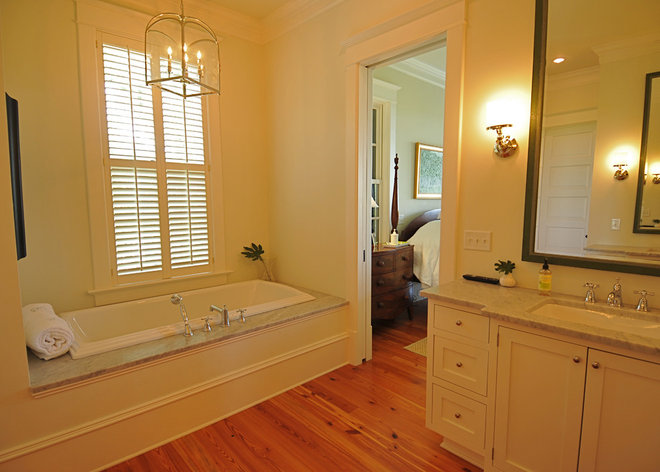 Traditional Bathroom by Alix Bragg Interior Design