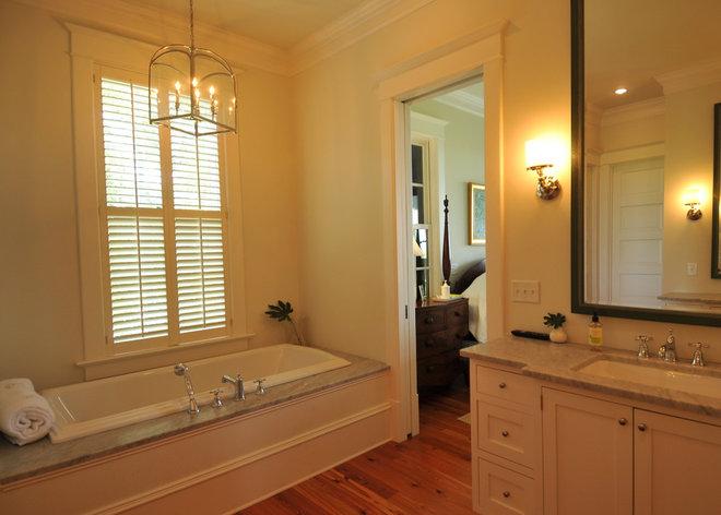 Traditional Bathroom by Alix Bragg Interior Design
