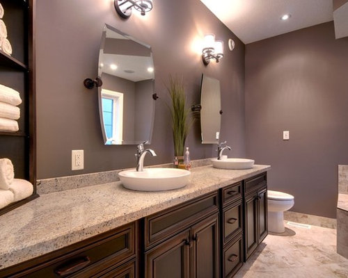Mauve paint home design ideas renovations photos Mauve bathroom
