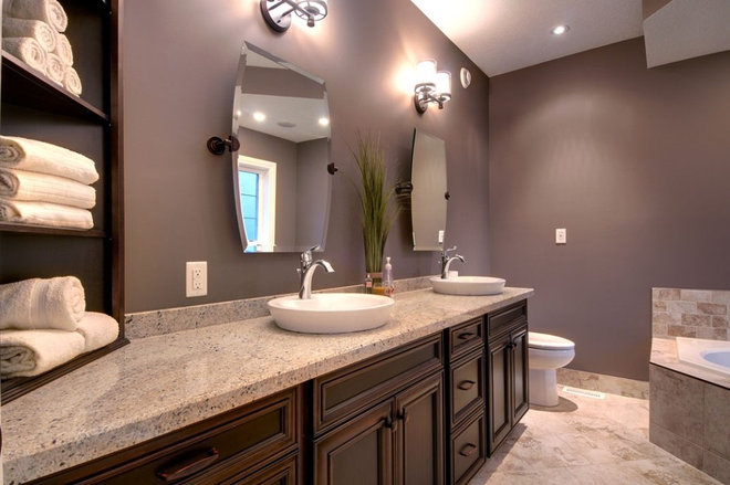 Contemporary Bathroom by Quality Construction Services