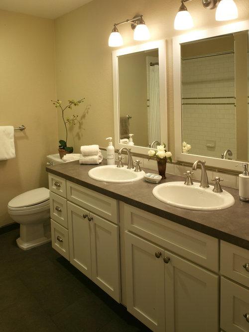 Laminate Vanity Tops For Bathrooms bathroom laminate countertops | houzz