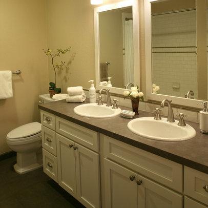 Laminate Countertop Bathroom Design Ideas, Pictures, Remodel and Decor
