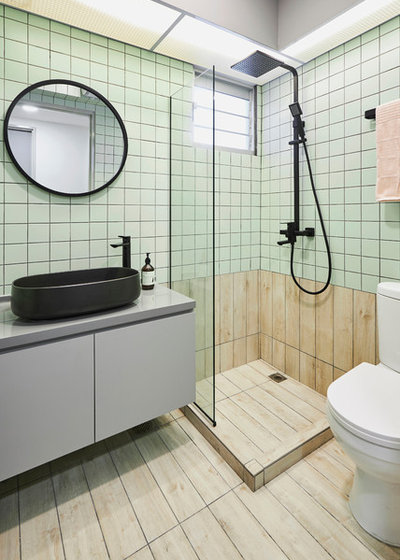 Scandinavian Bathroom by Studio FortyFour