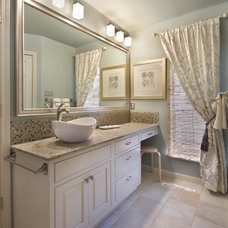 Modern Bathroom by Acadian House Kitchen and Bath Design