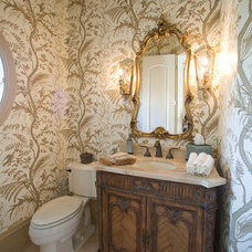 Traditional Bathroom by Norcia Fine Cabinetry