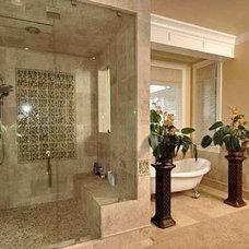 Mediterranean Bathroom by Authentic Designs & Remodeling Inc.