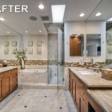 Traditional Bathroom by Roger Perron Design and Construction