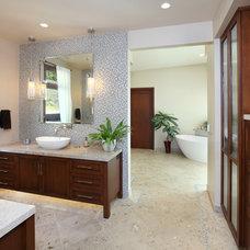 Contemporary Bathroom by V.I.Photography & Design