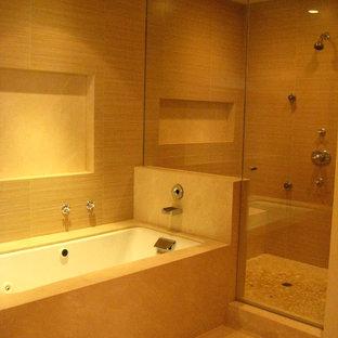ロサンゼルスのモダンスタイルのおしゃれな浴室の写真