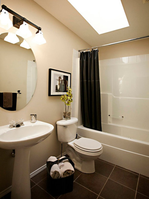 Tub Shower Combo Design Ideas Remodels Photos With A Drop In Tub And A