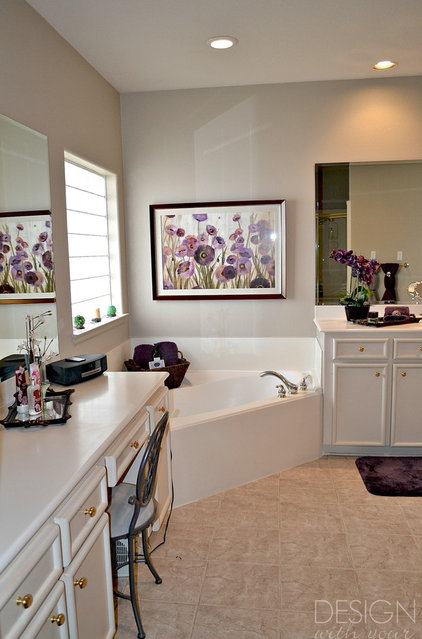 Traditional Bathroom by Design With Your Dime in Mind