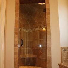 Traditional Bathroom by Rusert Custom Homes