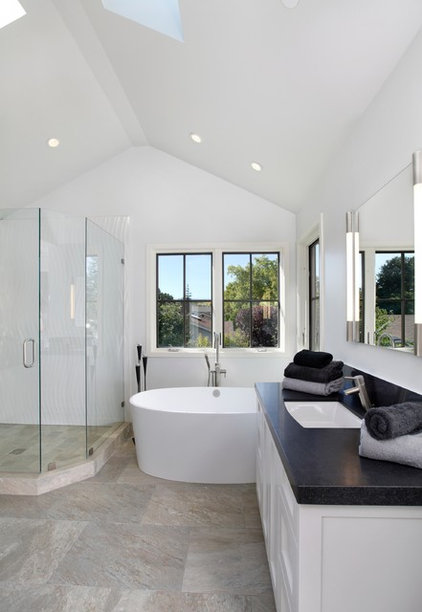 Traditional Bathroom by James Witt Homes