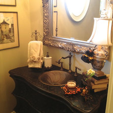 Eclectic Bathroom by Total Quality Home Builders, Inc.