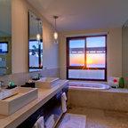 Master Bath Tropical Bathroom Hawaii By Saint