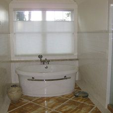 Contemporary Bathroom by Anchor Blinds