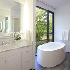 Modern Bathroom by Szostak Design Inc