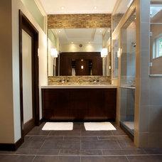 Modern Bathroom by nBaxter Design