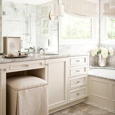 Traditional Bathroom by Heather Garrett Design