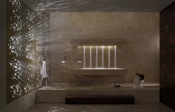 Modern Bathroom by Edelman