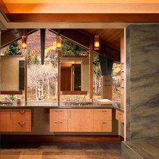 Modern Bathroom by Poss Architecture + Planning + Interior Design