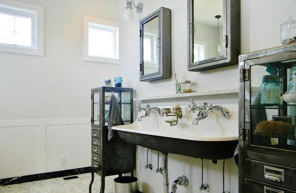 Farmhouse Bathroom by Kimberley Bryan