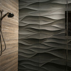Modern Bathroom by Cathers Home
