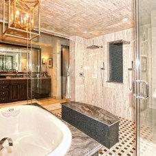 Mediterranean Bathroom by Zbranek & Holt Custom Homes