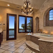 Mediterranean Bathroom by Zbranek & Holt Custom Homes