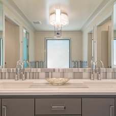 Transitional Bathroom by Isler Homes