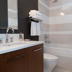 contemporary bathroom by Atmosphere Interior Design Inc.