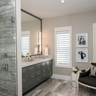 Gray Greige Bathroom Ideas | Houzz