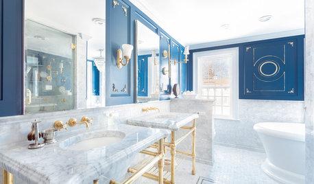 This Master Bathroom's Design Speaks of Five-Star Luxury