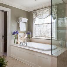 Traditional Bathroom by Merigo Design