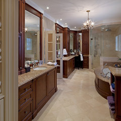 traditional bathroom by Peter A. Sellar - Architectural Photographer