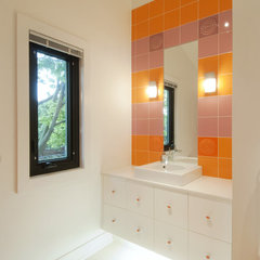 modern bathroom by Modus Design Studio