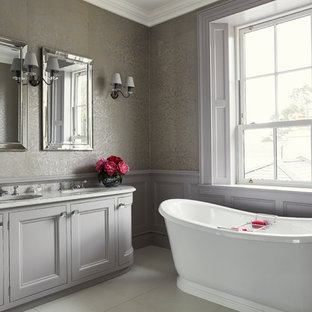 Silver Grey Bathroom Ideas Houzz