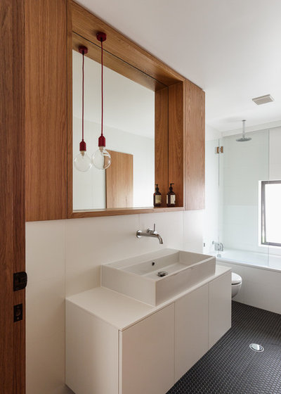 Contemporary Bathroom by Tribe Studio Architects