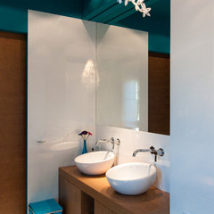 modern bathroom by studio A:W