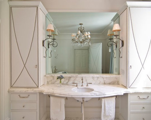 Orange County Bathroom Design Ideas Renovations Photos With Beaded Inset Cabinets